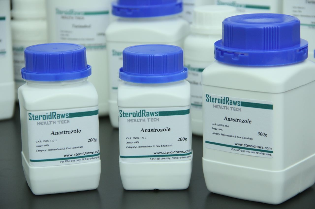 Anastrozloe Arimidex For Anti - Estrogen USP/ BP/ ISO9001 , Cas no. 120511-73-1